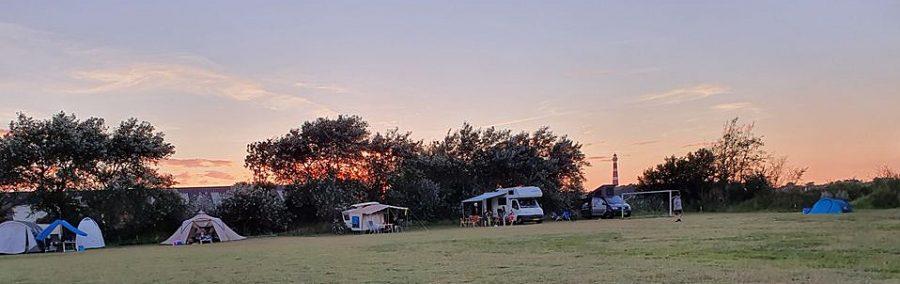 camping de Kuul in Hollum op Ameland