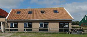 gebouw c van de Kuul op Ameland